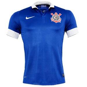 Camisa do Corinthians de 2013 - Camisa azul do Corinthians 2013 7e335a9c5e342