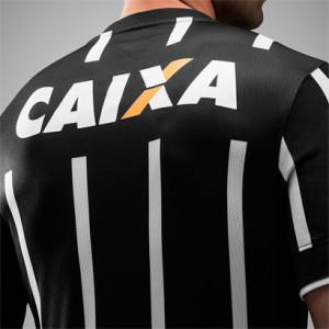 Camisa do Corinthians de 2014 - Costas do uniforme 2 do Corinthians em 2014