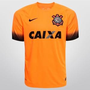 ab68eb0c70 Camisa do Corinthians de 2015 - Uniforme III do Timão em 2015