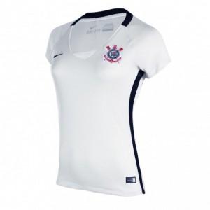 Camisa do Corinthians de 2016 - Uniforme I - Versão feminina 6d98a41b50cbe