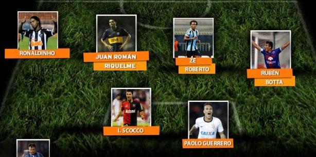 Guerrero é destaque na Libertadores