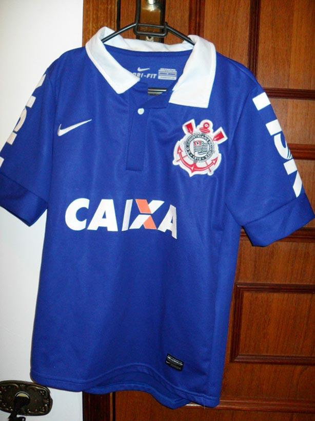 Camisa Corinthians 2013 - azul ... a34589efca5e8