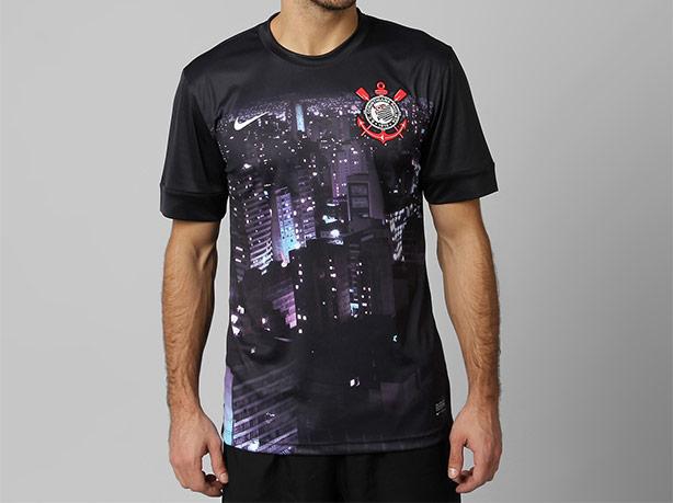 879ea8f8be Nike inova e lança uma camisa de pré-jogo do Corinthians