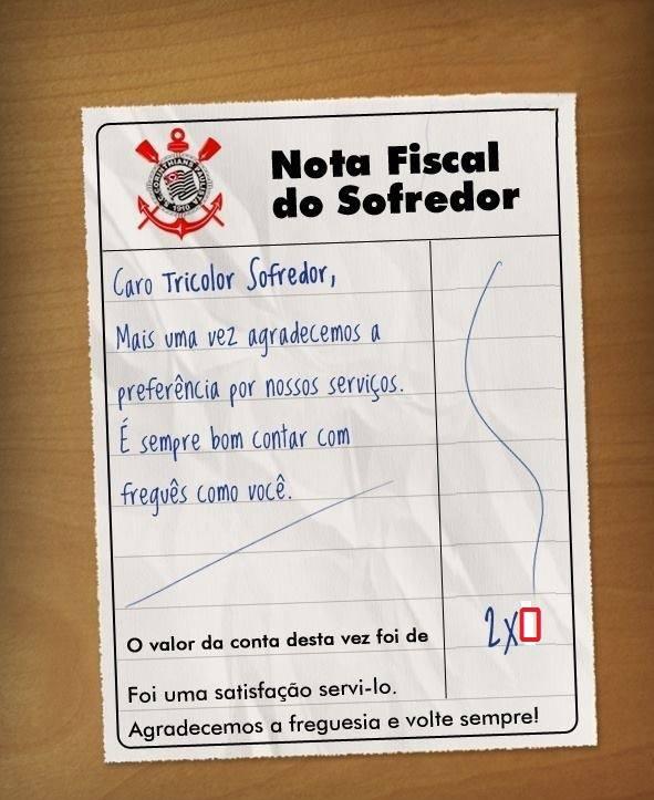 Nota Fiscal pros S�o Paulinos
