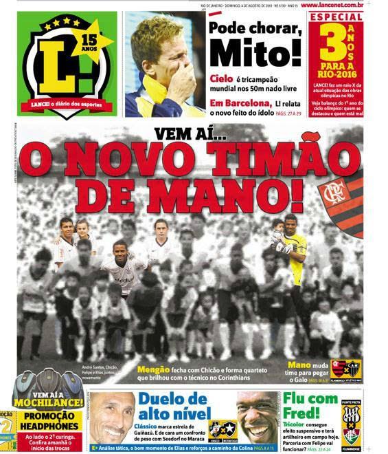 Lance zoa Flamengo