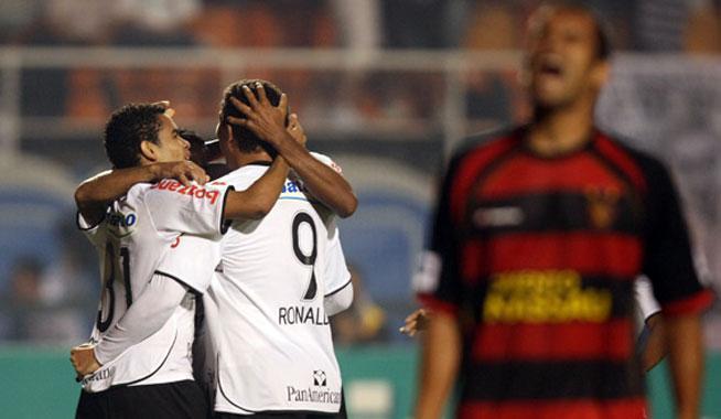 Corinthians X Sport Brasileirao 2020