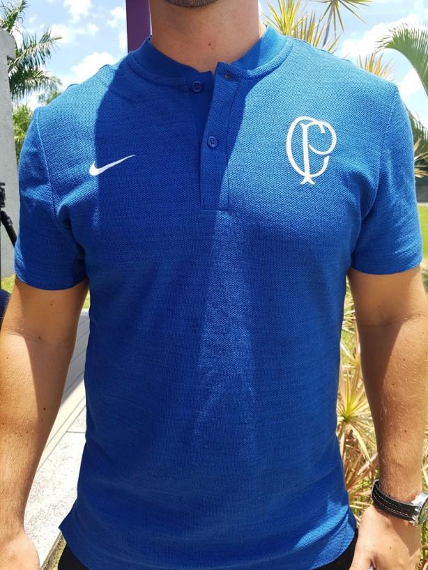 c5ca93d033260 Nova camisa 2019 de viagem do Corinthians!