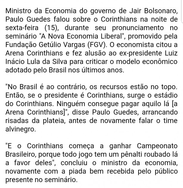 Paulo Guedes um imbecil