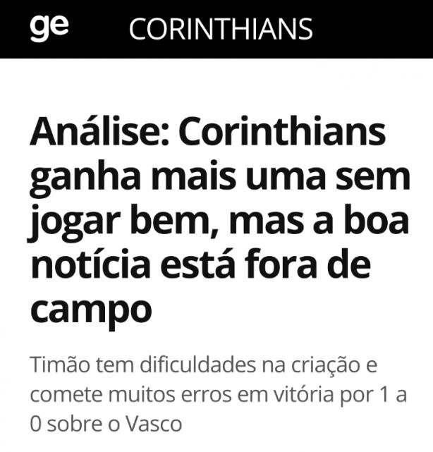 Achei Coerente A Colocação Do Bruno Cassucci Do Globoesporte