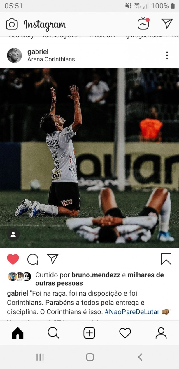 Instagram do Gabriel...