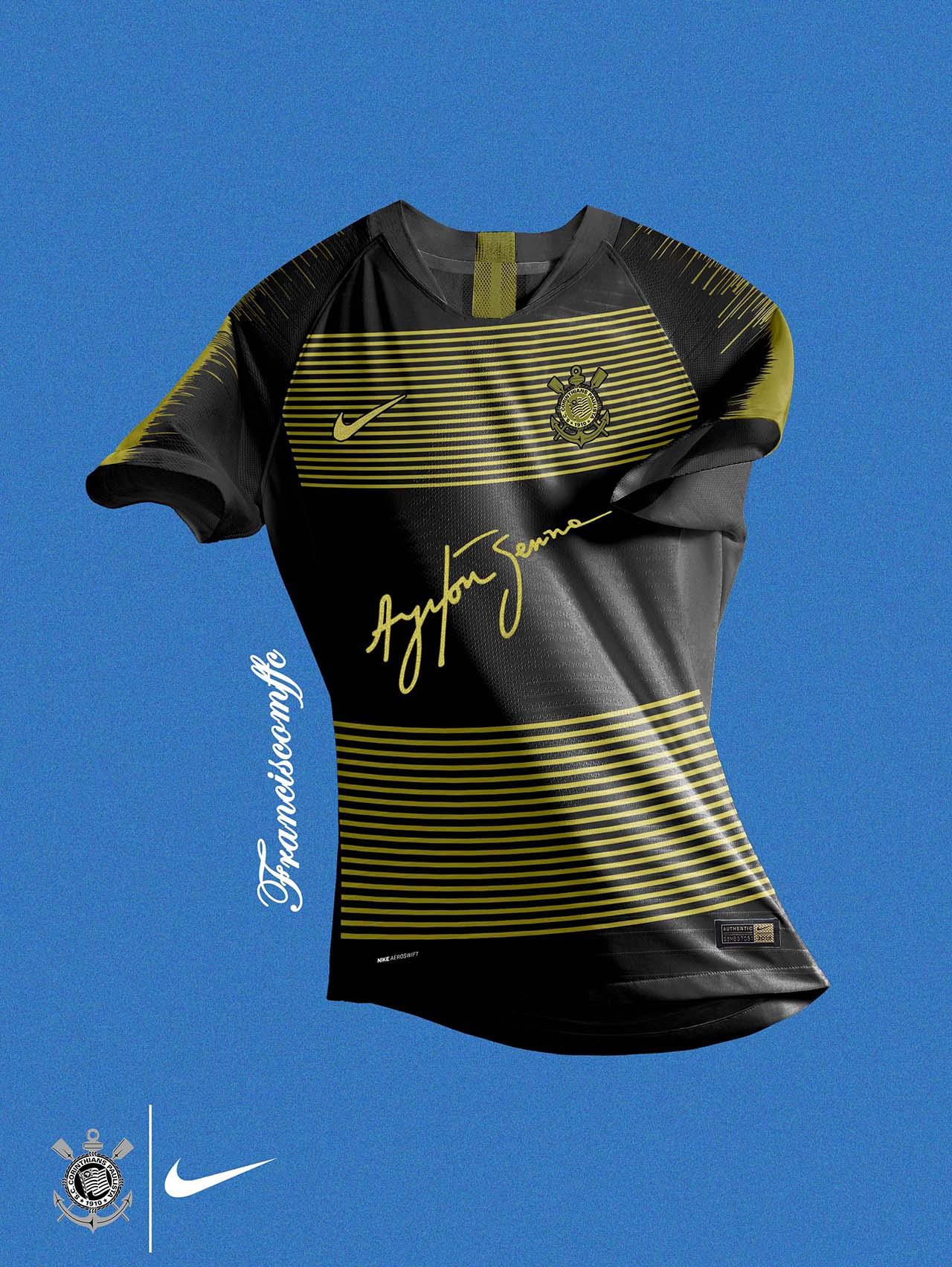 Camisa Corinthians - Ayrton Senna a6155ecea82de