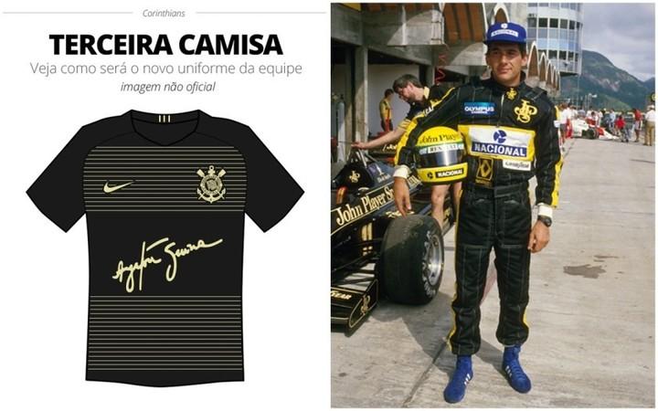 Clarin da Argentina - Camisa do Timão - Uma Pintura! 20a6c598032f2