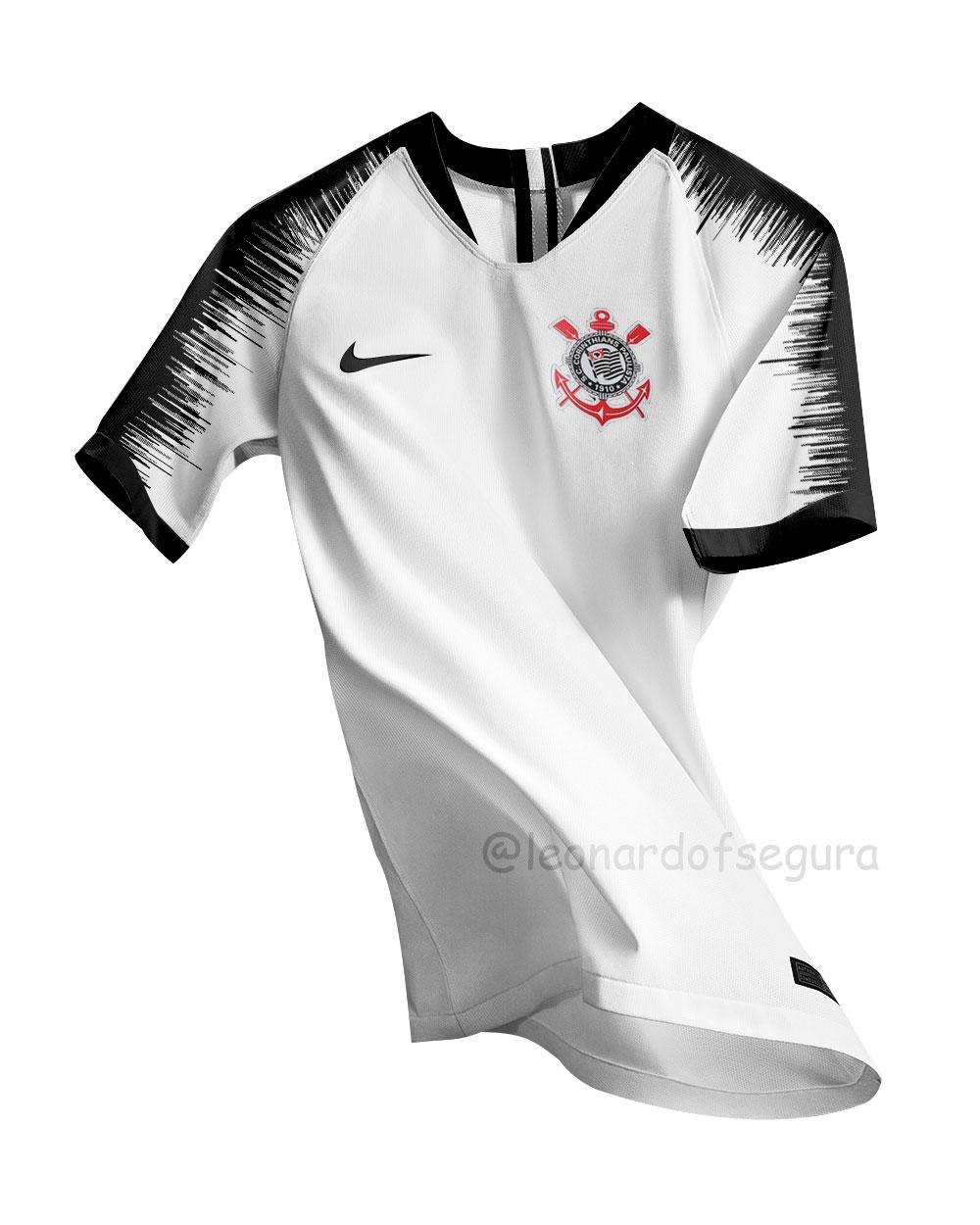 0da2e5fed14ed Montagem Camisa Corinthians 19 20