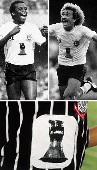 Os patrocinadores do Corinthians