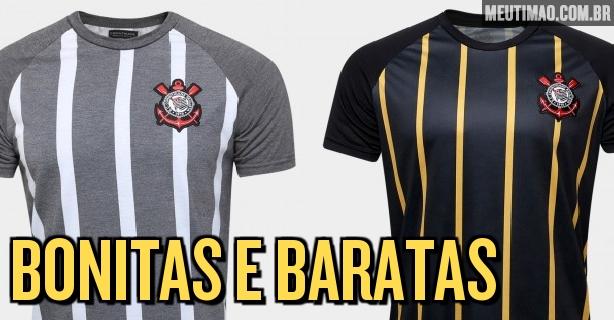 Camisa do Corinthians retrô com listras verticais por R 59.90 47d581bfcfd40