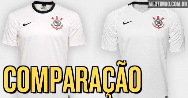 Camisas do Corinthians  entenda as diferenças entre réplica fe1b29497442b