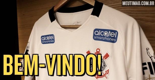 Corinthians anuncia novo patrocínio para a camisa  veja como ficou cfec00ff3fff1