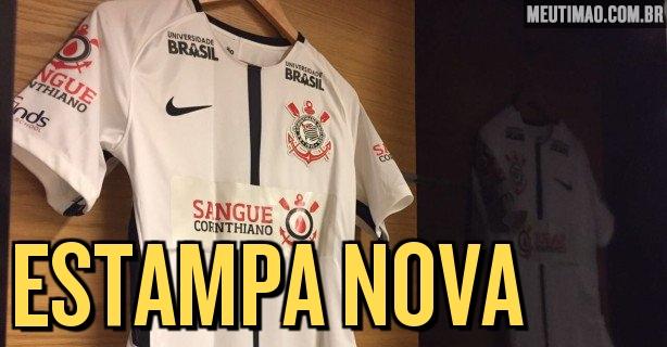 Corinthians anuncia novidade pontual no uniforme para jogo deste sábado   veja foto 105f56d4675e4
