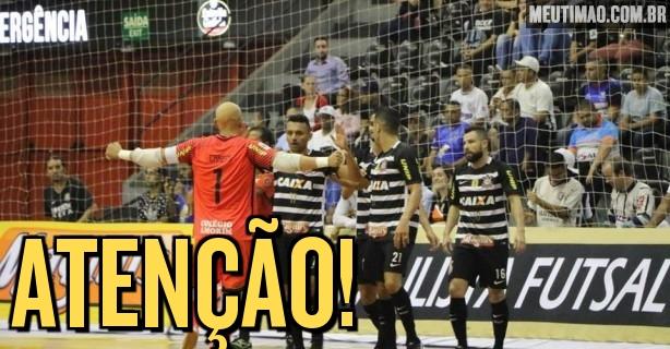 43a5fe84eca6b Liga Paulista de Futsal conhece primeiro finalista  Corinthians UNIP pode  reeditar final