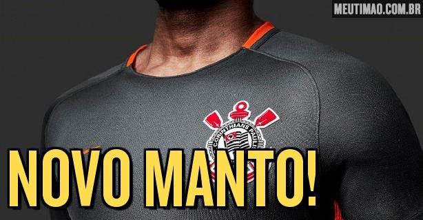 9e70cdc66c11a Corinthians divulga oficialmente nova camisa  veja detalhes do uniforme