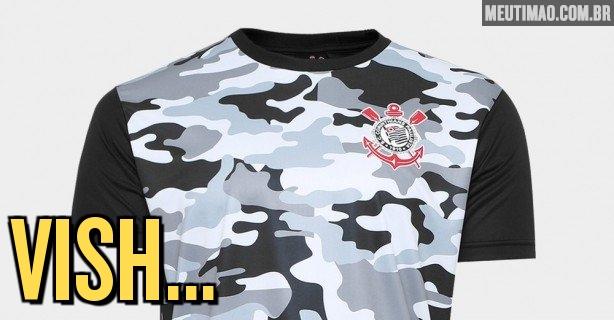 Corinthians lança camiseta semelhante a uniforme de rival e recebe  críticas  post é apagado 158f250ddc017