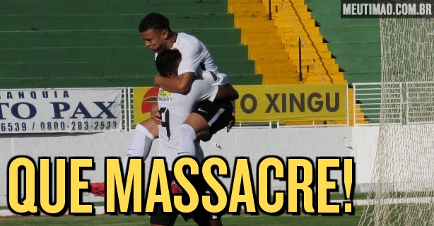 Corinthians marca sete gols só no primeiro tempo e avança na Copa do Brasil  Sub-20 114e971f456f4