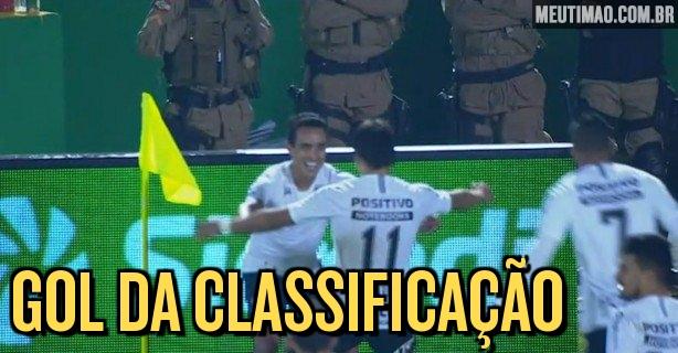 59e37f0896 VÍDEO  Chapecoense 0x1 Corinthians - Confira o gol de falta do Jadson
