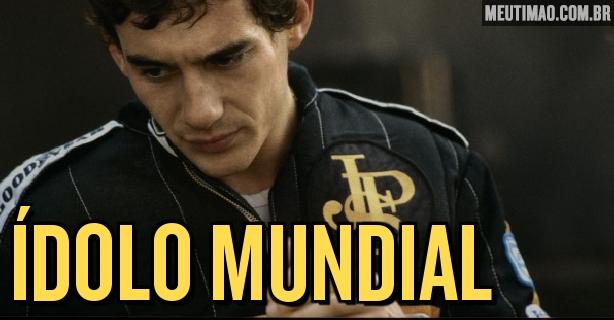 Camisa do Corinthians inspirada em Senna repercute na imprensa estrangeira ba9463052eb22