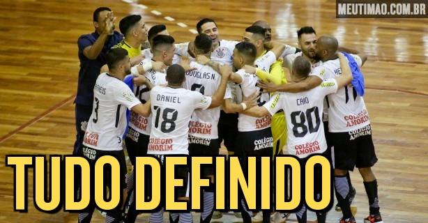 b5226abe65fdd Corinthians conhece agenda da primeira fase da Liga Nacional de Futsal