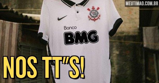 Fiel coloca campanha por BMG em preto e branco na nova camisa entre temas mais comentados do Twitter – Meu Timão