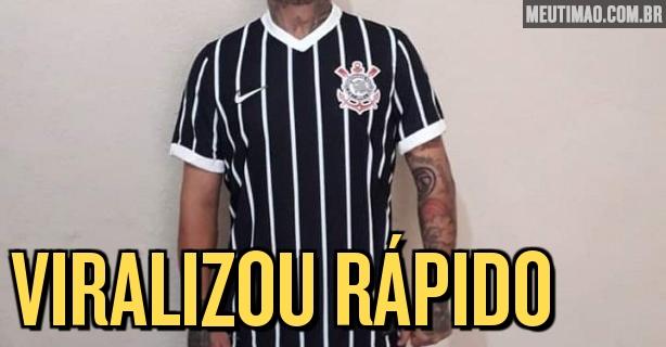 Supostas fotos de nova segunda camisa do Corinthians vazam nas redes sociais – Meu Timão