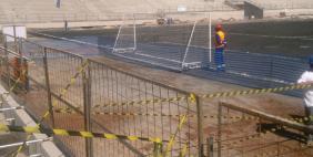 Apenas nove metros vão separar o gramado do alambrado na Arena Corinthians