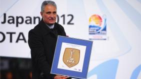 FIFA: Corinthians recebe Distintivo de Campe�o Mundial