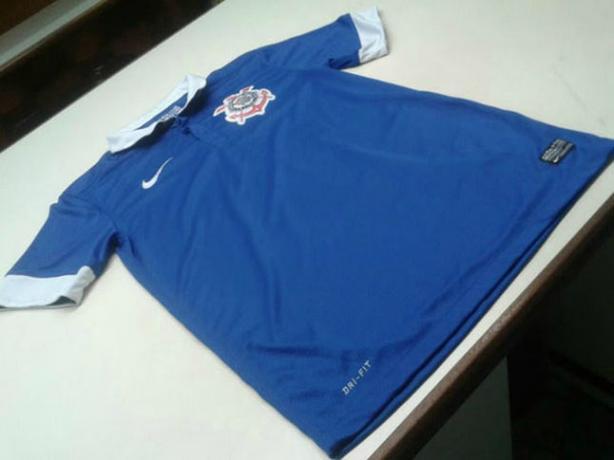 Camisa azul do Corinthians