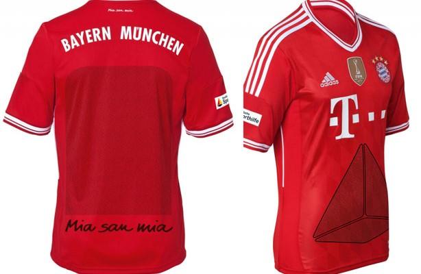 573b5b0060710 Bayern de Munique também irá homenagear os torcedores na camisa do clube