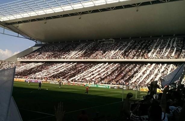 57ac3f2d79274 Arena Corinthians faz sua estreia no Campeonato Paulista