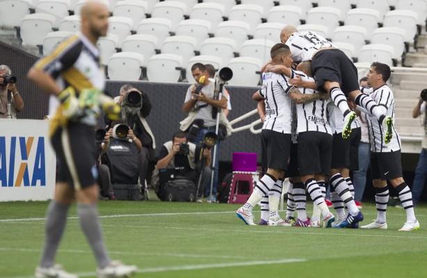 d0c3dcc9d8fb0 Timão venceu por 3x0 na Arena Corinthians