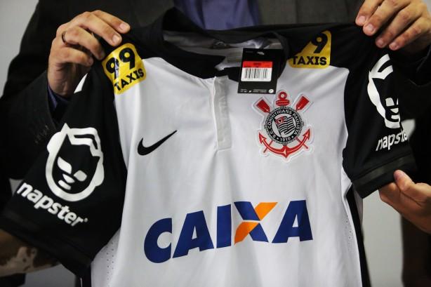 Camisa que será usada pelos jogadores do Timão neste domingo f196b0651583f
