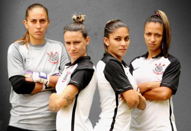 16300b44be Conheça as jogadoras do time de futebol feminino do Corinthians