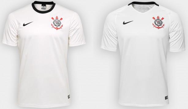 Camisas do Corinthians  entenda as diferenças entre réplica 6b7781b44c273