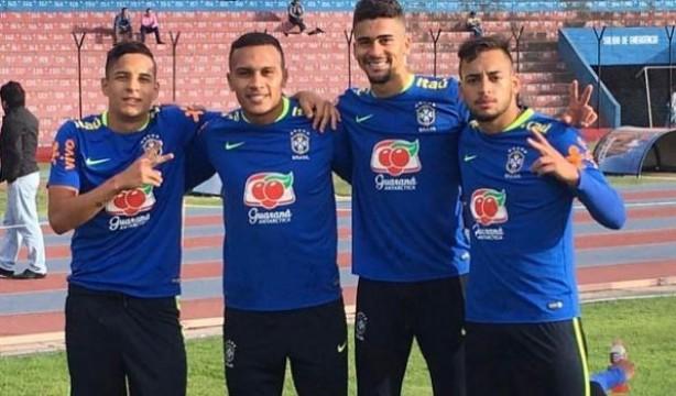 Quarteto do Corinthians estreia hoje na competição sul-americana af41337c0aa84