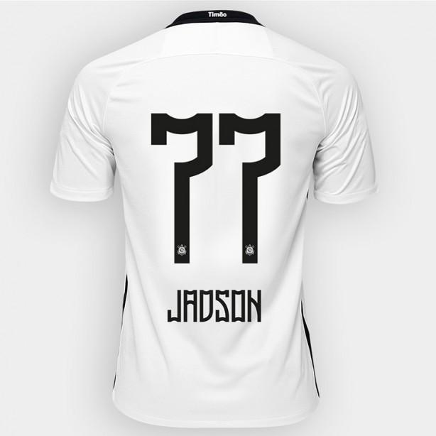 Corinthians inicia venda pela internet da nova camisa de Jadson 032fe7e0993d9