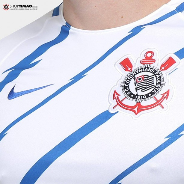 0139915952 ShopTimão inicia venda de camisa pré-jogo do Corinthians