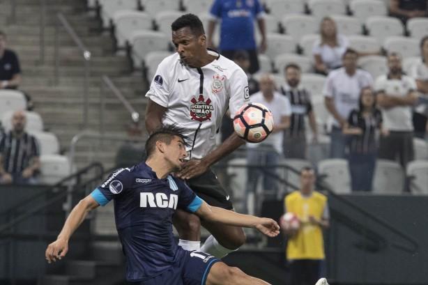 Jô analisou o empate de 1 a 1 entre Corinthians e Racing 12b5c891f602f