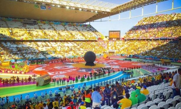 5ea9e06103 Arena Corinthians era escolhida como sede de abertura da Copa do ...