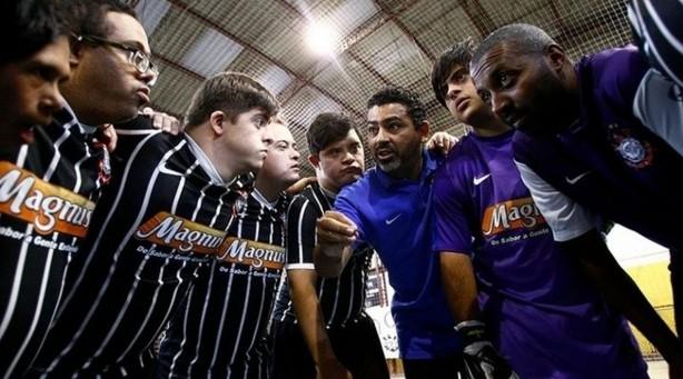 ee78b8854a Equipe do Corinthians com atletas com Síndrome de Down está invicta desde  2007