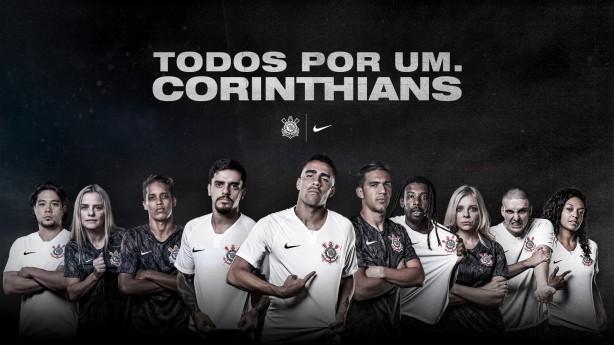 e84566bb5f Corinthians e Nike lançam novo uniforme do Corinthians nesta quarta-feira