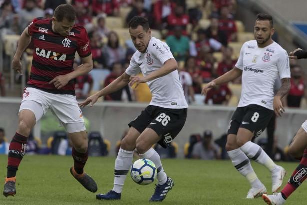 Corinthians de Rodriguinho pouco criou e perdeu para o Flamengo no Maracanã 36243e58ce9a2