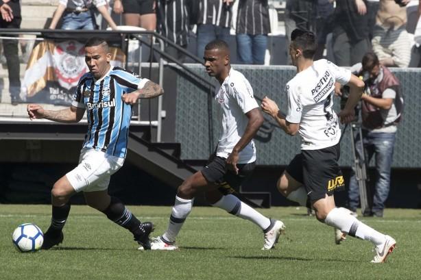 40b1c0c87c Marllon comemora estreia no Corinthians e afirma   Foi o jogo da ...