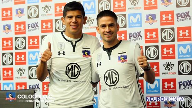 b9bb17b302e Esteban Pavez e Damián Pérez reforçam o Colo-Colo diante do Corinthians